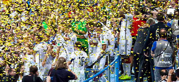 Fussball, Weltmeisterschaft, Jubel, 2014, Nationalmannschaft, DFB