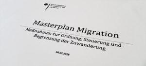 Masterplan Migration, Horst Seehofer, Migration, Masterplan, Anker-Zentren