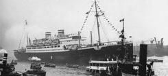 Schiff, Dampfer, St. Louis, Hamburg, Juden, Flüchtlinge