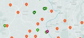 Karte, interaktiv, Juden, Jüdische, Deutschland