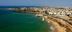 Dakar, Senegal, Afrika, Strand, Meer, Küste, Stadt