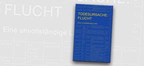 Buch, Buchcover, Todesursache Flucht, Flucht, Liste