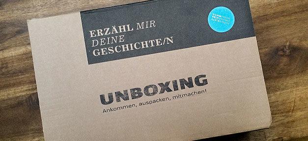 Unboxing, Geschichte, Märchen, Grimms Welt, Integration, Flüchtlinge