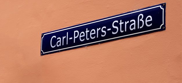 Carl-Peters-Straße, Straße, Schild, Straßenschild