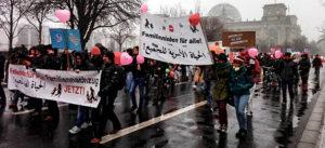 Familiennachzug, Flüchtlinge, Grundrechte, Demonstration, Demo