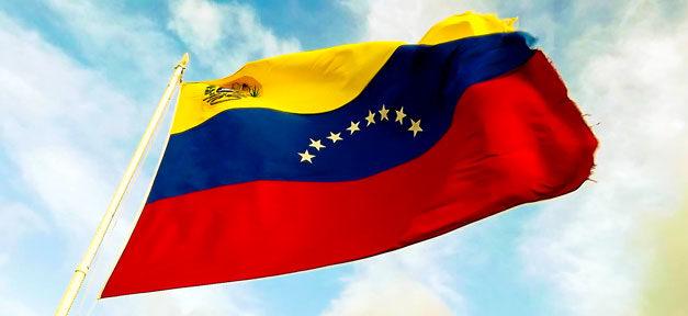 Venezuela, Flagge, Fahne, Mast, Staat, Land