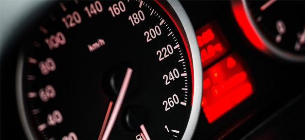 Tacho, Auto, Geschwindigkeit, Pkw, kmh