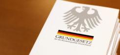 Grundgesetz, Verfassung, Buch, Bundesrepublik, Grundrechte