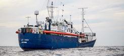 Alan Kurdi, Rettungsschiff, Seenotretter, Sea Eye, Mittelmeer