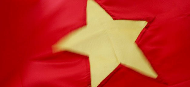 Vietnam, Flagge, Fahne, Vietnamesen, Staat, Land