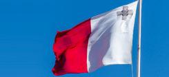 Malta, Fahne, Flagge, Staat, Himmel, Mast, Fahnenmast