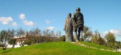 Mahatma Gandi, Gandi, Statue, Denkmal, Portugal