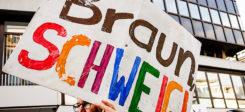 Demonstration, AfD, Rechtsextremismus, Neonazis, Braunschweig
