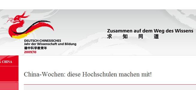 China kommt an deutsche Hochschulen