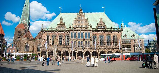 Bremen, Rathaus, Wahlen, Wahlergebnisse, Rathaus Bremen