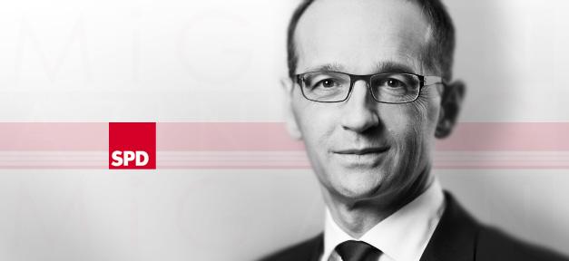 Bundesjustizminister Heiko Maas (SPD) © Frank Nürnberger
