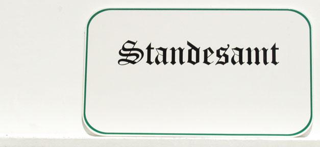 Standesamt, Name, Urkunde, Verwaltung, Ehe, Hochzeit