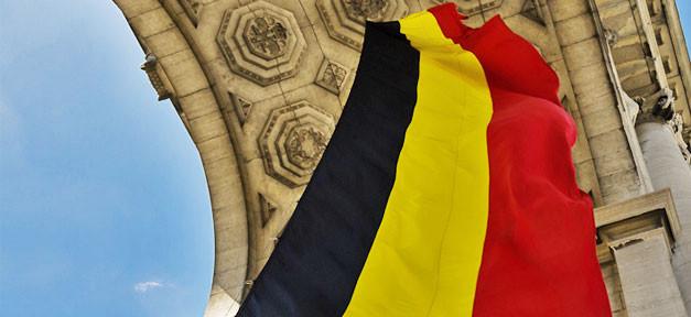 belgien, belgium, flagge, fahne