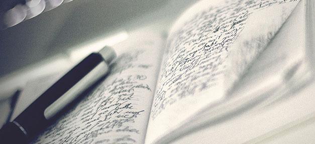 Notiz, notizen, tagebuch, schreiben, stift