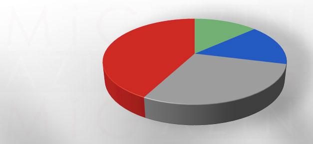 Tortengrafik, Umfrage, Statistik, Prozent, Studie