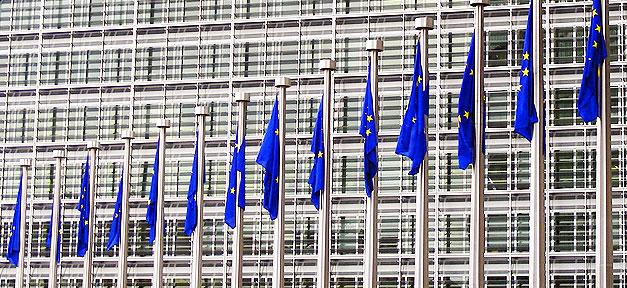 europa, eu-kommission, flagge, kommission, parlament