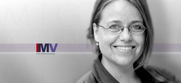 Dr. Sabine Schiffer, Institut für Medienverantwortung, imv, medien, migazin