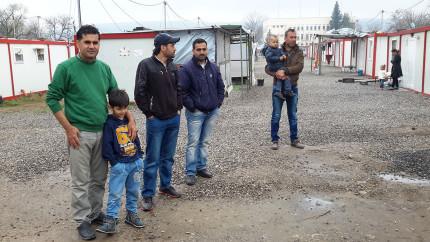 Flüchtlingslager in Bulgarien © Birgit Sippel