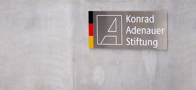 Konrad Adenauer Stiftung, KAS, CDU, Politik, Stiftung
