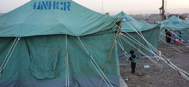 Flüchtlinge, Flüchtlingscamp, UNHCR, Syrien, Flucht