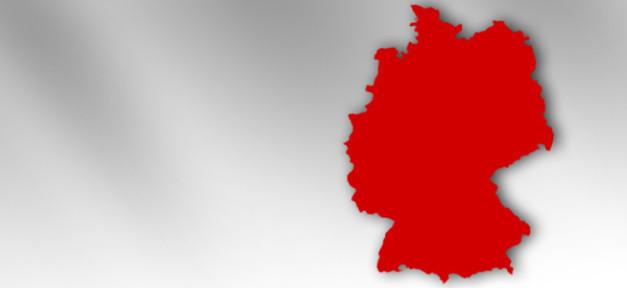 Deutschland, Karte, BRD, Germany, Land