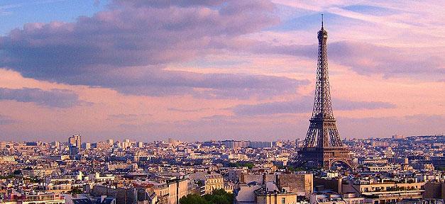 Paris, Frankreich, Eifelturm, Stadt, Panorama, France