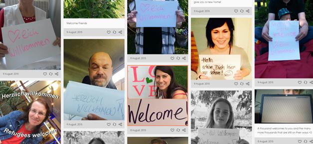 Willkommen, 1000, Flüchtlinge, Asyl, Asylbewerber, tumblr