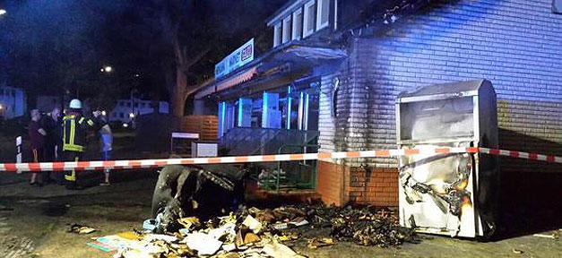 Brand, Moschee, Brandanschlag, Brandstiftung