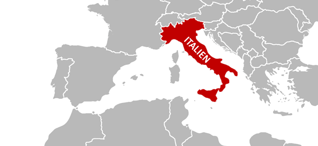 Italien, Karte, Landkarte, italia