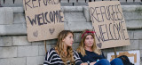 Frauen dominieren Flüchtlingshilfe