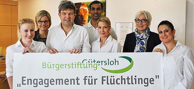 Zahnarzt, Deppe, Spende, Flüchtlinge