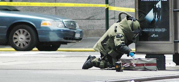 Bombe, Bombenentschärfung, Terror, Polizei, Terrorismus