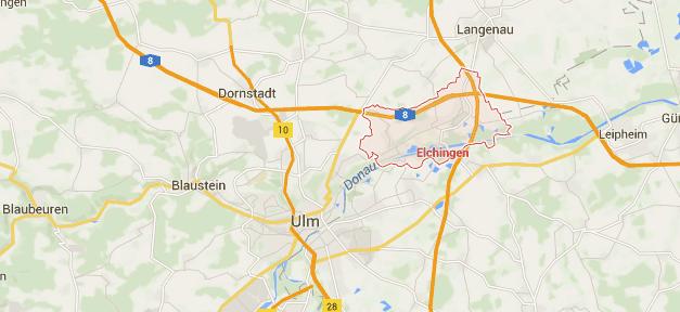 Elchingen, Maps, Ulm, Bayern