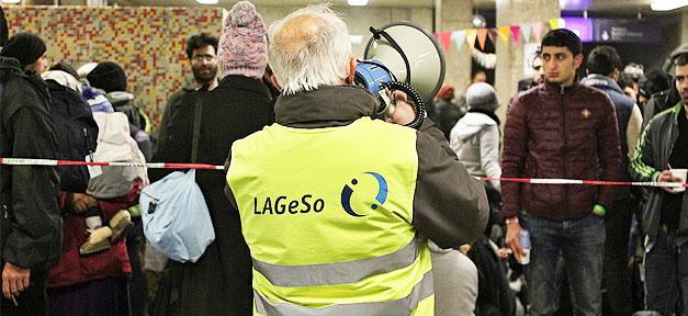 LAGeSo, Berlin, Flüchtlinge, Flüchtlingsaufnahme, Flüchtlingsheim