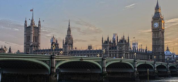 London, Stadt, Big Ben, Themse