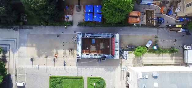 Zentrum für politische Schönheit, Flüchtlinge, Aktion, Demonstration
