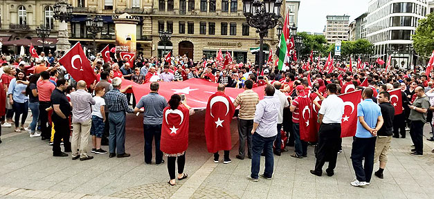 Türken, Türkei, demo, demonstration