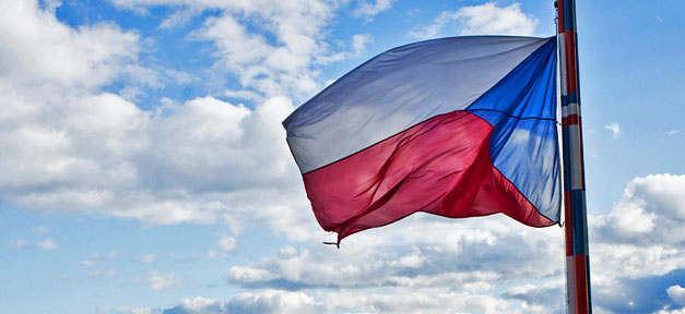 Tschechien, Flagge, Fahne, Tschechei