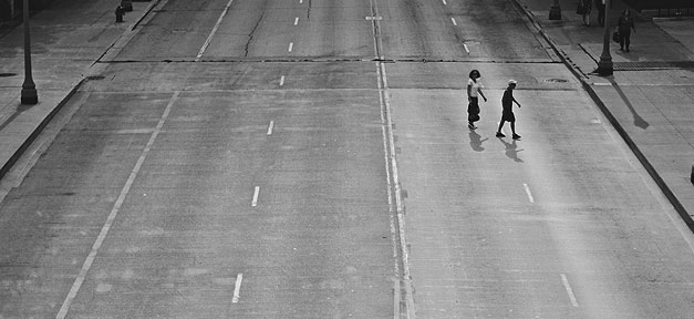 Straße, leer, Weg, Kinder, leere Straße