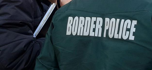 Grenzschutz, border police, polizei, grenze, flüchtlinge