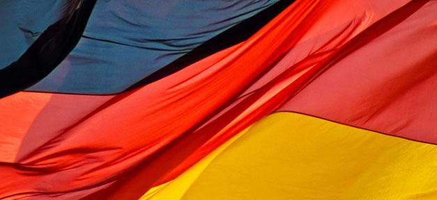 Deutschland, Fahne, Flagge, BRD, Bundesrepublik
