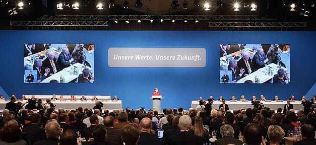 Angela Merkel, Parteitag, CDU, Rede, Essen