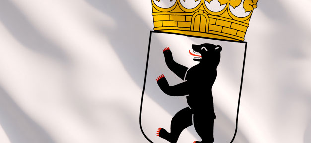 Berlin, Wappen, Bär, Fahne, Flagge, Hauptstadt