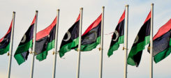 libyen, libya, Fahne, Flagge, Libyen Fahne, Libyen Flagge