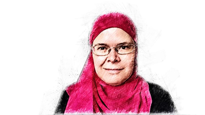 Anja Seuthe, Muslime, Islam, Religion, Kopftuch